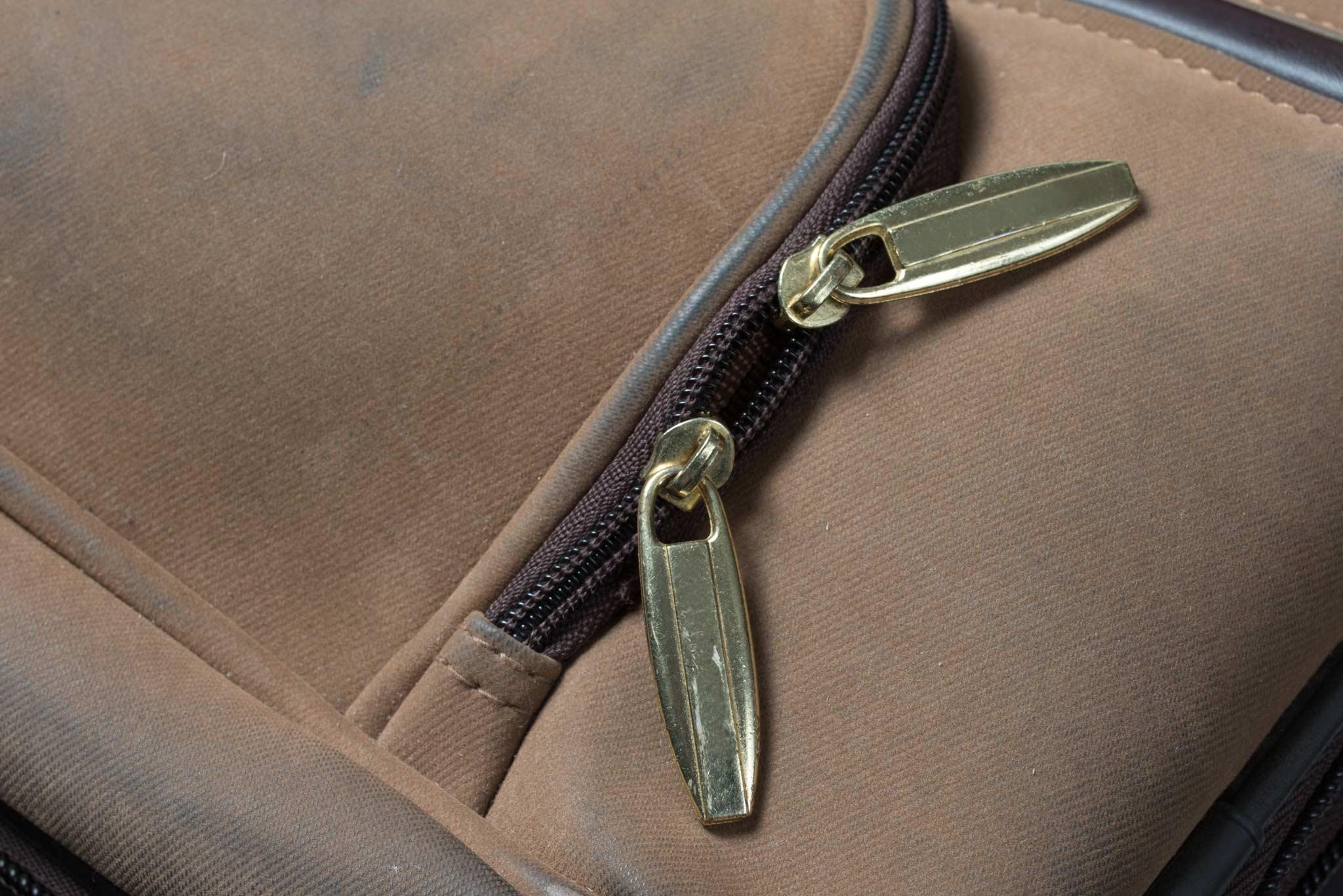 how to open a zipper slider