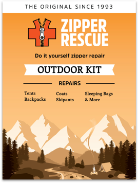 Products zipper rescue do it yourself zipper repair kit for outdoor gear and accessories solutioingenieria Images