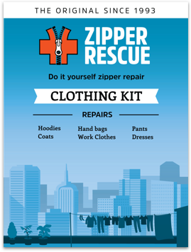 Products zipper rescue do it yourself zipper repair kit for clothing and accessories solutioingenieria Images